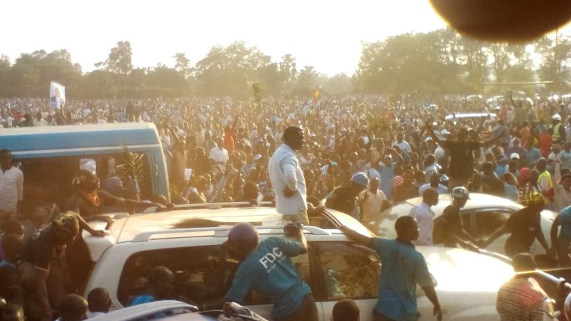 Mr. Besigye's Jinja Rally