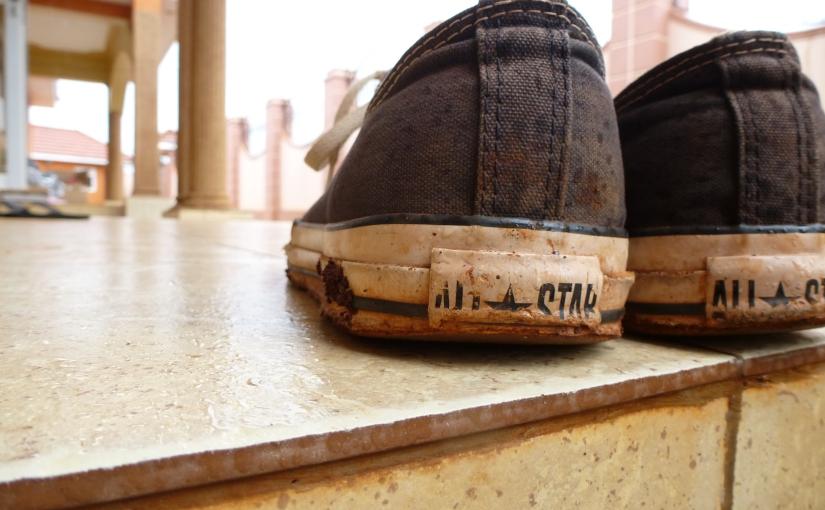 Through Shoes